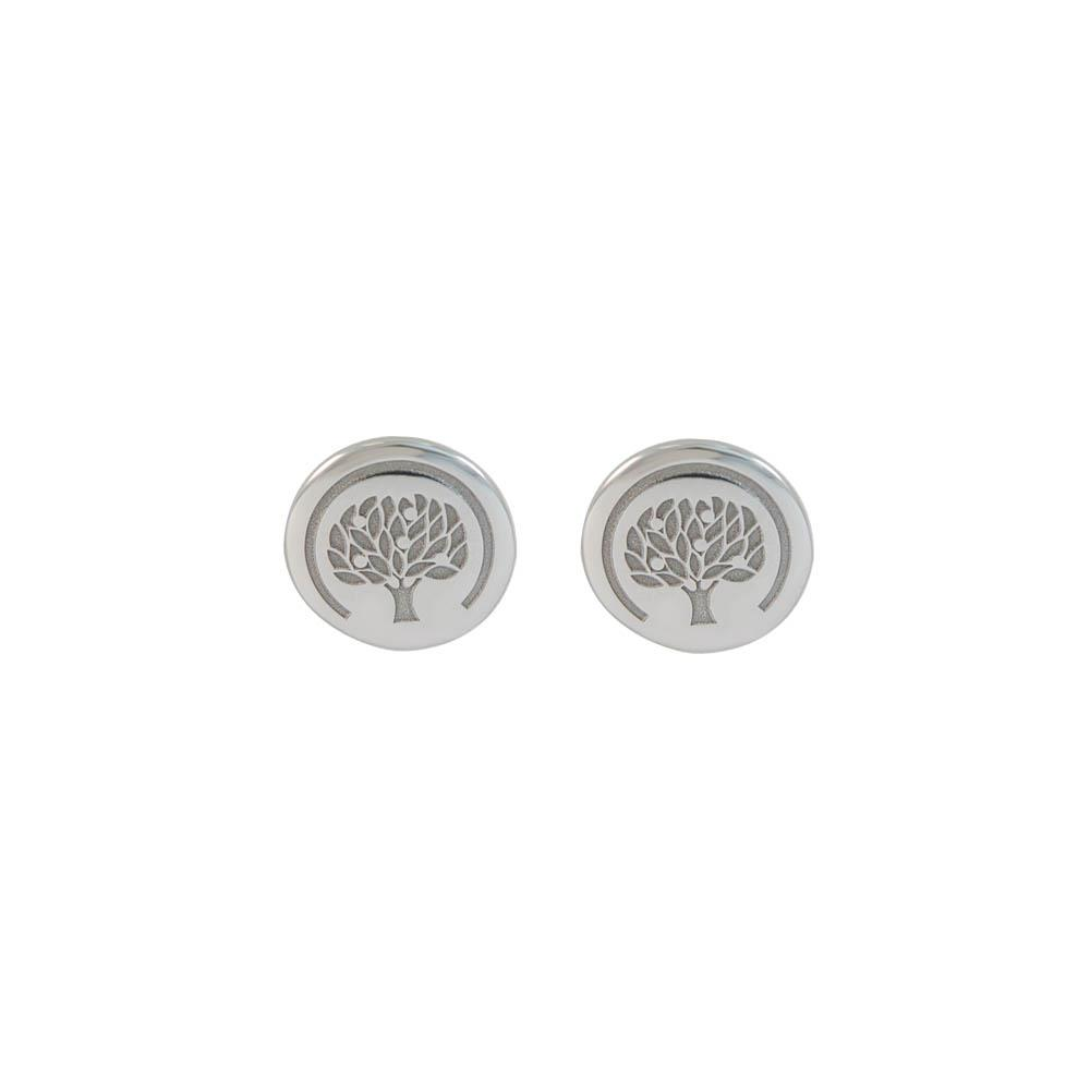 Sterling silver studs earrings with life tree