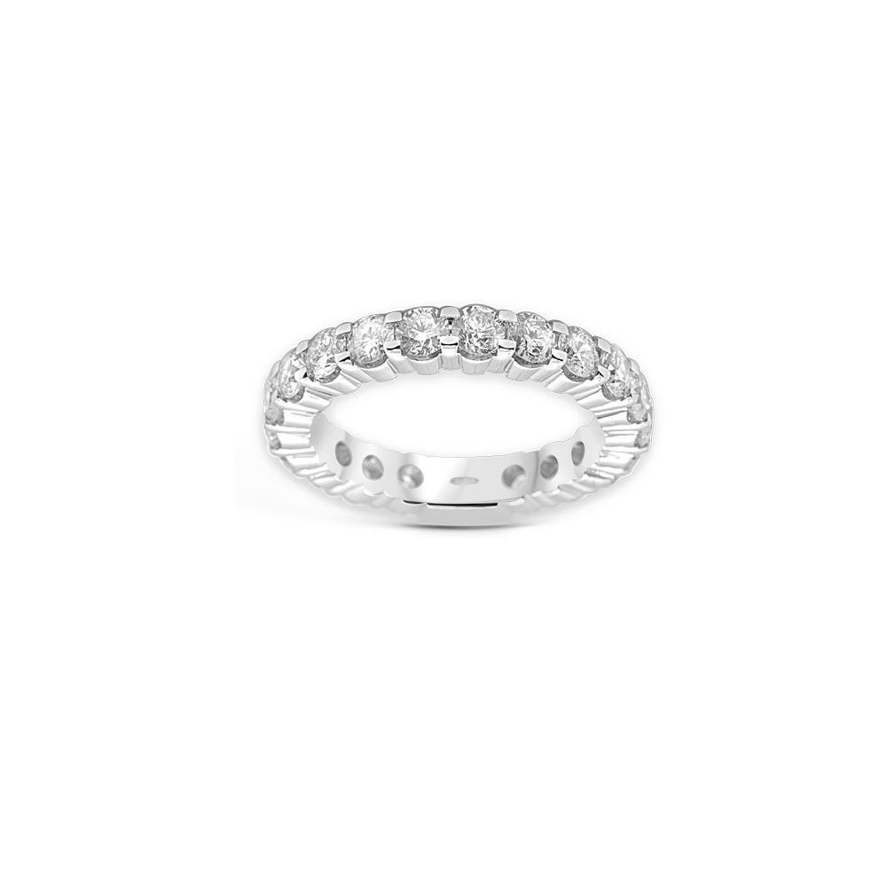 White gold ring with 1.00 ct diamonds  Available in different weighing in carats